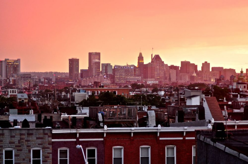 A view of the Baltimore skyline. (3sonsproductions/Flickr)