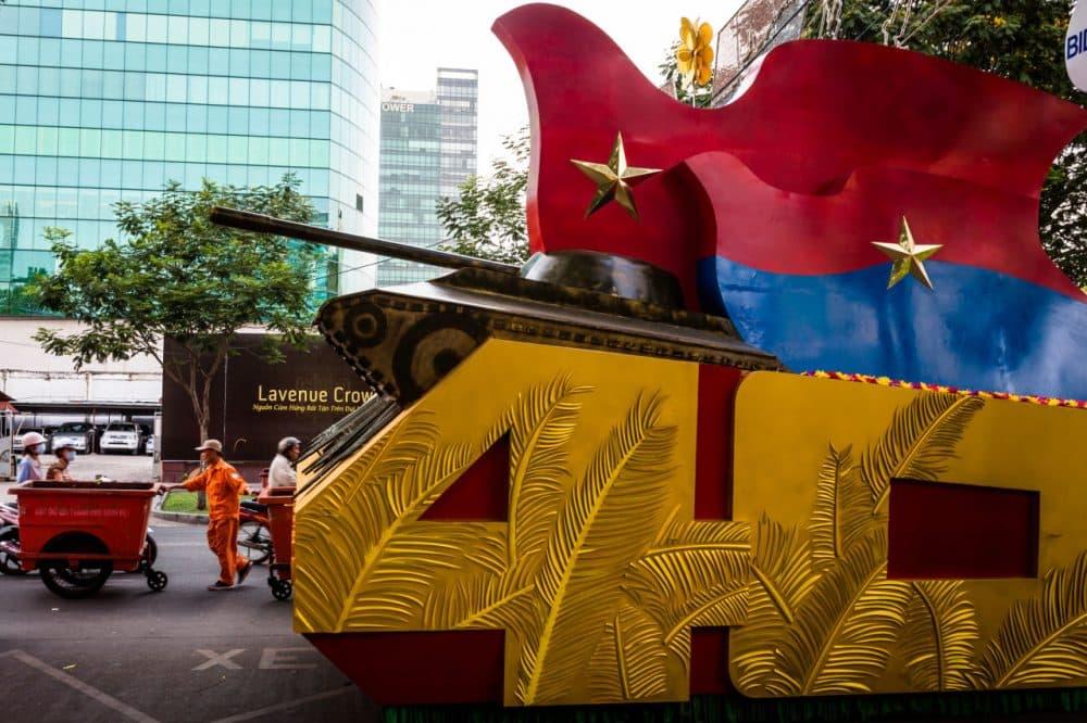 Photos: Vietnam Readies For Reunification Day | WBUR News