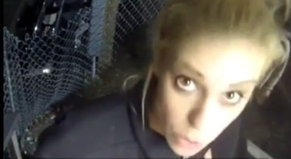 Julie Wittes Schlack: Public shaming can enforce positive social values, but is the cure worse than the disease? In this screengrab, ESPN reporter Britt McHenry is caught on video this month insulting a towing company clerk's intelligence, job and appearance. She was suspended from her job for a week and issued a public apology. (youtube)