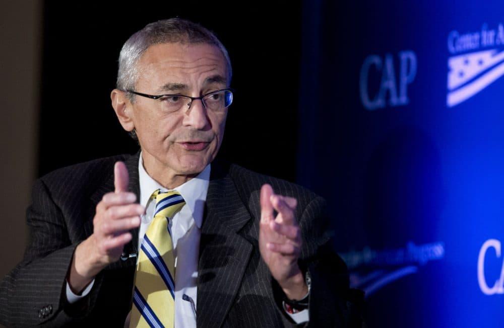 John Podesta speaks to the Center for American Progress's Second Annual Policy Conference in Washington on Nov. 19, 2014.  (Manuel Balce Ceneta/AP)