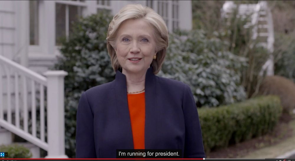 The Democratic presidential hopeful kicked off her campaign with an engaging videoon Sunday. But there were a few things -- and people -- notably absent fromClinton's idealized America. (Hillary For America/AP)