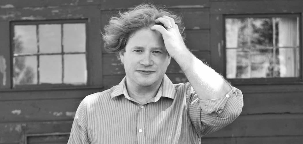 Multitasking bookseller and book-writer Josh Cook. (Emily Hamm Daigle)