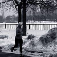 """Meg Stone: """"Boston is the city I love. The city I honor every time I run."""" (Roberto Ciucci/flickr)"""