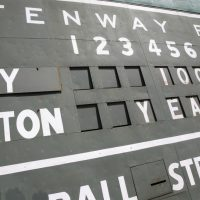 "Chuck Tanowitz: ""It has now been determined: I'm a pox on the Sox. At least, I am when I buy the tickets."" Pictured: The Green Monster scoreboard at Fenway Park is seen before a baseball game between the New York Yankees and the Boston Red Sox in Boston, on the 100th anniversary of the opening of the ballpark, Friday, April 20, 2012. The author bought tickets to that game, and the Sox lost. (Michael Dwyer/AP)"