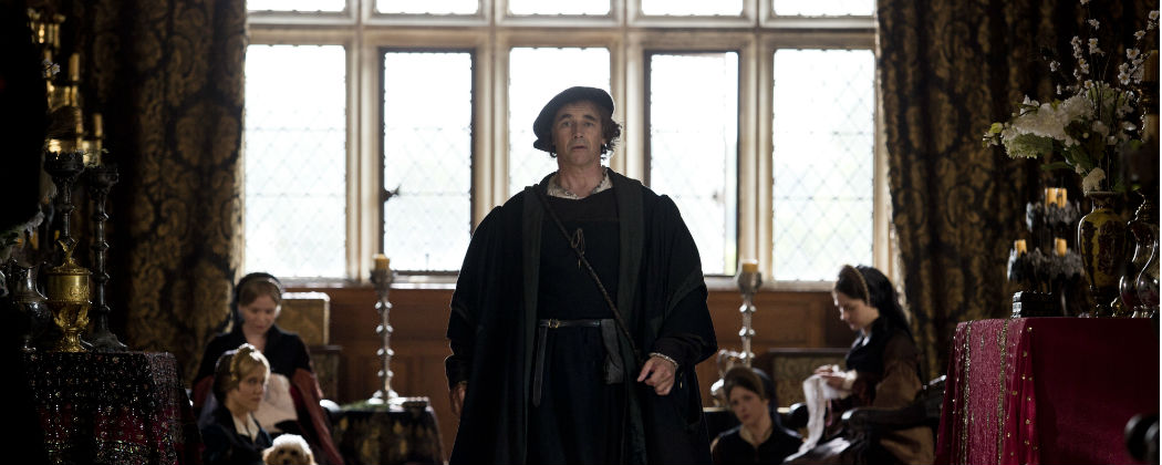 "Mark Rylance (in a scene from ""Wolf Hall"") co-created the play, ""Nice Fish"" which begins in January 2016. (Courtesy)"