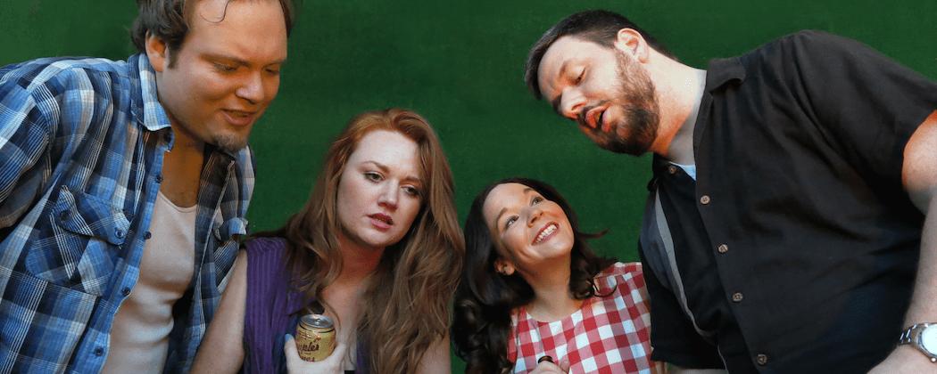 "John Greene, Courtland Jones, Becca A. Lewis and Stephen Libby  in ""Detroit."" (Danielle Fauteux Jacques)"
