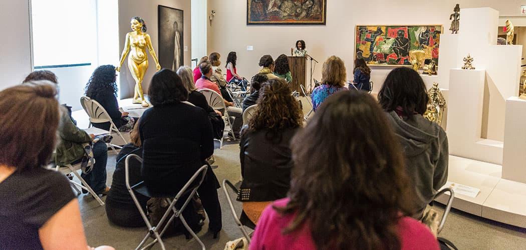 The Massachusetts Poetry Festival reading at the Peabody Essex Museum. (John Andrews)
