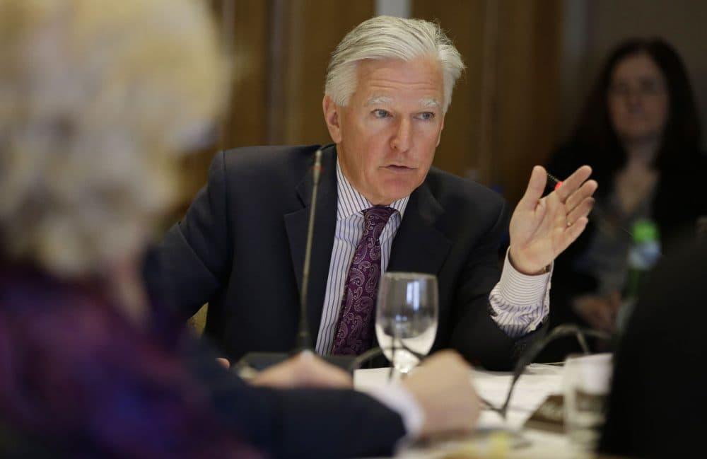 UMass President Marty Meehan. (Stephan Savoia/AP)