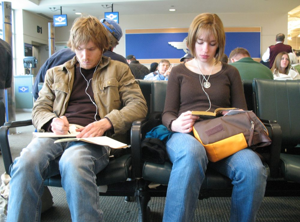 More companies are offering casual dress codes and travel to young employees in order to keep them around. (TheeErin/Flickr)