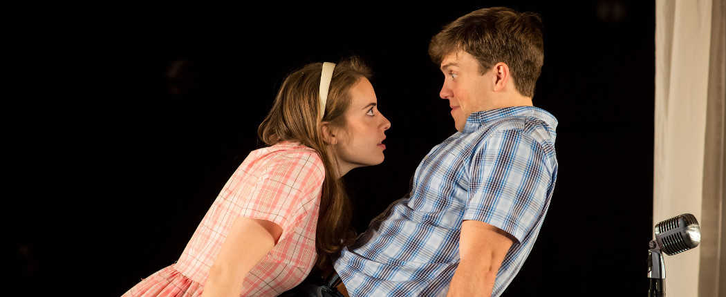 "Melissa Jesser and Jordan Ahnquist in ""Mr g."" (A.R. Sinclair Photography)"