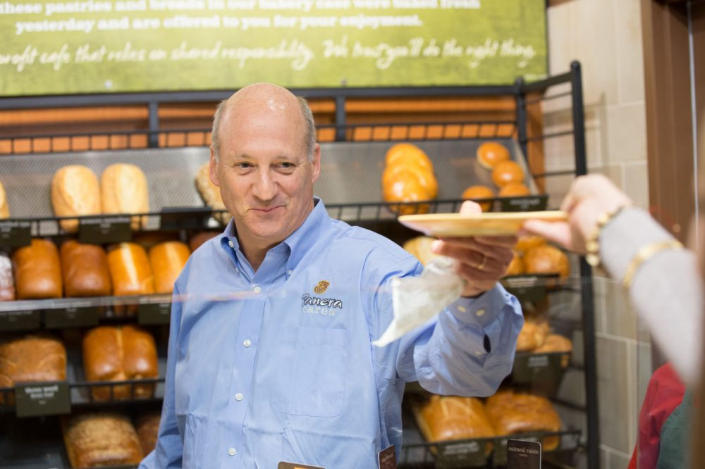 Panera Bread CEO Ron Shaich is pictured in 2013. Panera is the latest company to tout the removal of artificial ingredients, adding more fuel to the debate over whether such moves improve the quality of food or are little more than a marketing tool. (Panera Bread via AP)