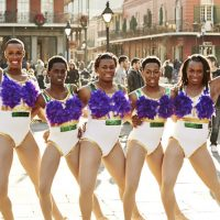 From left: Adrian Clemons, Kareem Davis, Kentrell Collins, Jerel Maddoz and Timothy Smith are the Prancing Elites. (Oxygen)