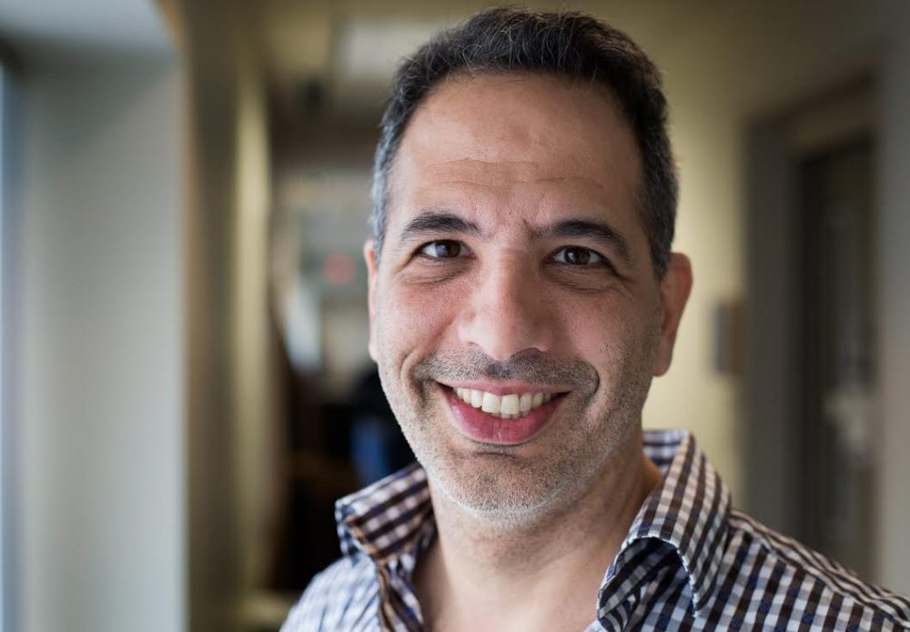 Yotam Ottolenghi is a world renowned chef and cookbook author. (Robin Lubbock/WBUR)