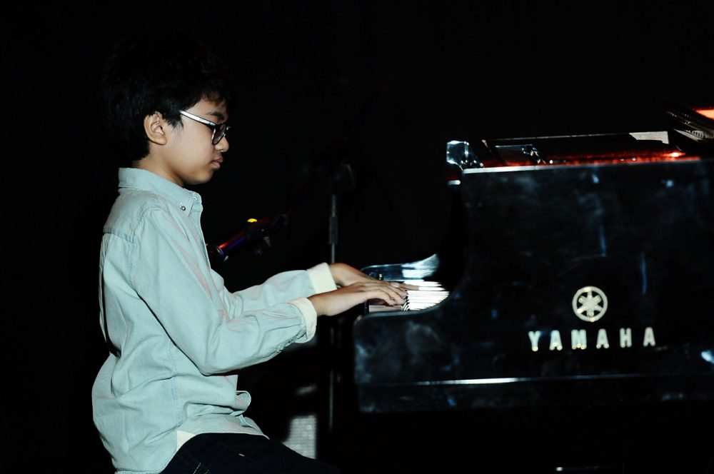Joey Alexander performs in the 10th Year Edition of Jakarta International Java Jazz Festival 2014 day 3 at JIExpo Kemayoran on March 2, 2014 in Jakarta, Indonesia.  (Robertus Pudyanto/Getty Images)
