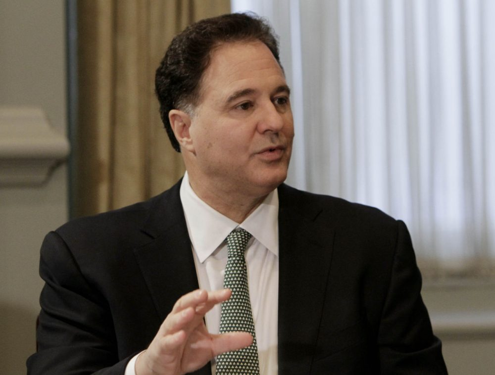 Seen here in a 2010 file photo, Bain Capital executive and Celtics co-owner Steve Pagliuca was named chair of Boston 2024 on Thursday. (Richard Drew/AP)