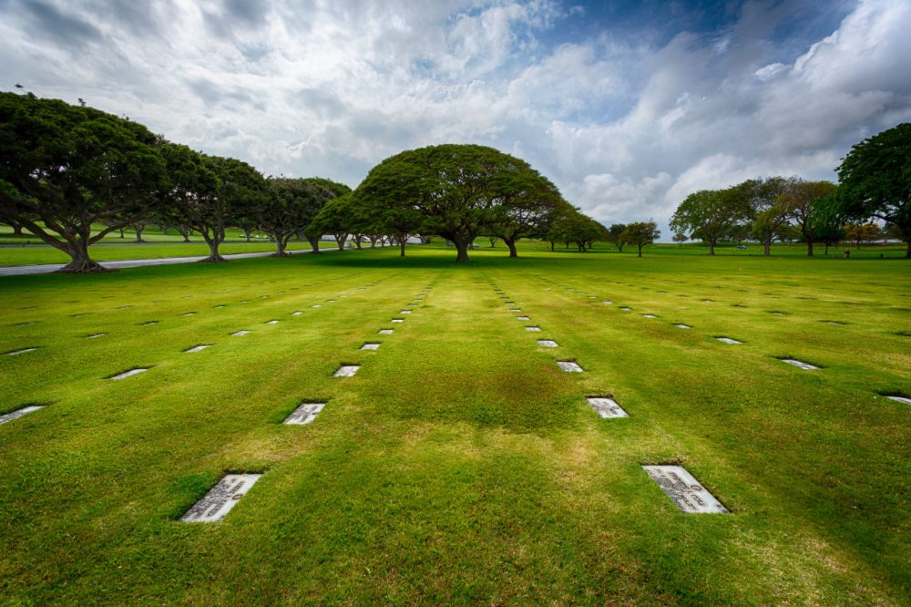 A project to exhume and identify the remains of unknown servicemen buried at the National Memorial Cemetery of the Pacific, who died aboard the USS Oklahoma during the Pearl Harbor attacks, is underway. (melfoody/Flickr)