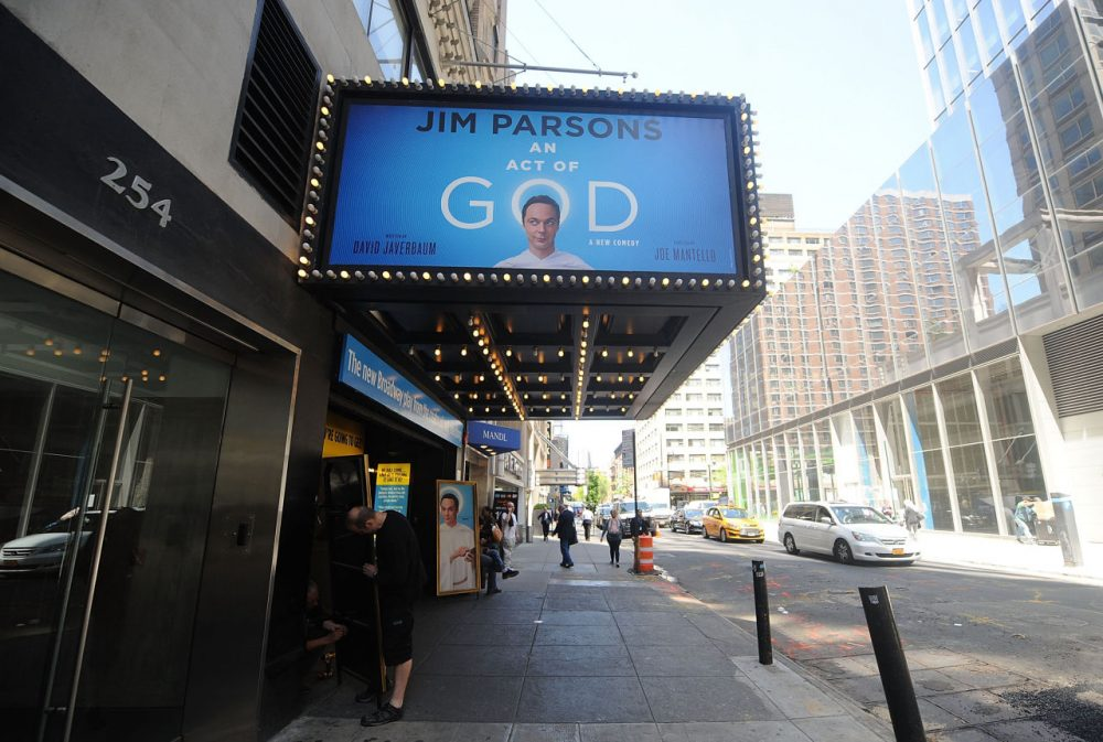 A general overview of 'An Act Of God' on May 14, 2015 in New York City. (Brad Barket/Getty Images)