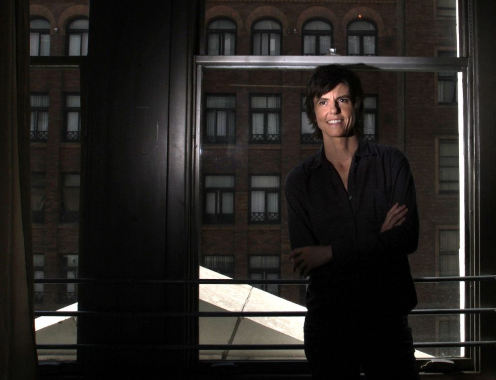 Comedian Tig Notaro at her downtown loft in Los Angeles. In 2012, she had an amazing and tragic year with success in her comedy career and the loss of her mother and the discovery of her own cancer. (Courtesy Bob Chamberlin/Los Angeles Times)