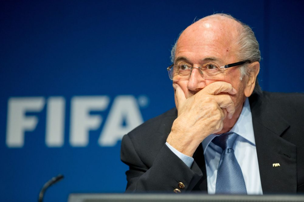Days before the election of a new FIFA President, high-ranking executives in Sepp Blatter's organization have been arrested. (Philipp Schmidli/Getty Images)
