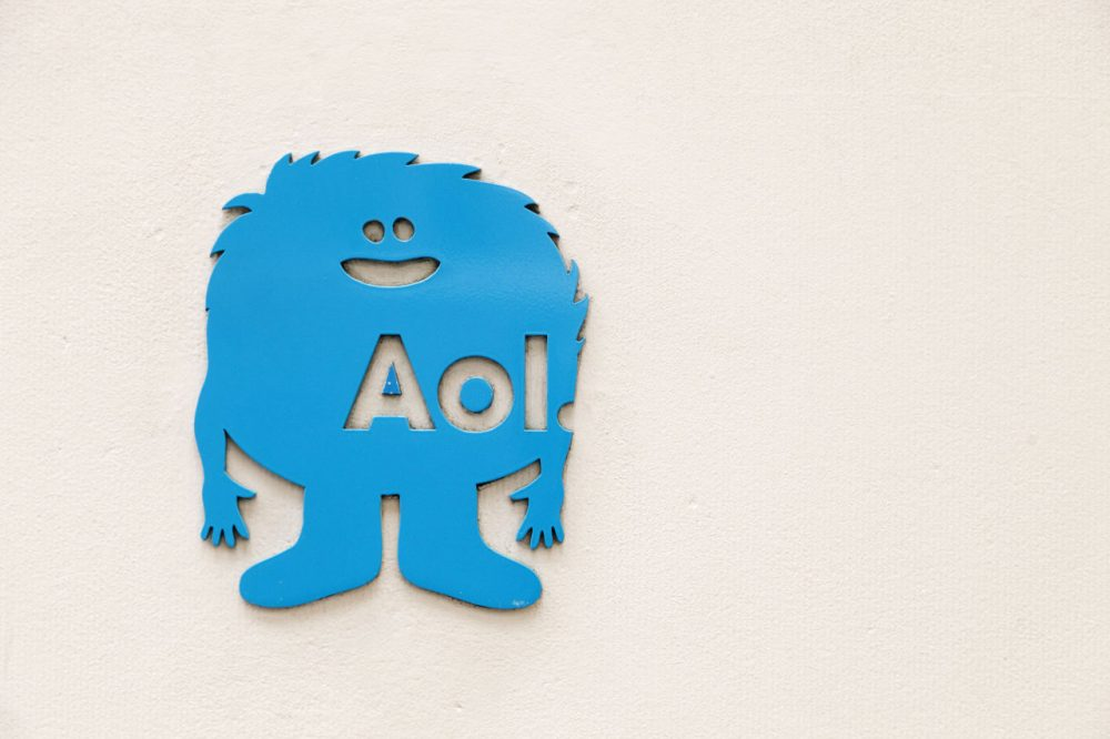 Verizon is buying AOL, advancing their push in mobile and advertising fields. (Mark Lennihan/AP)