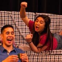 "Maria Jan Carreon (as Edith) and Gideon Bautista (as Kenny) in ""Edith."" (Paul Fox)"