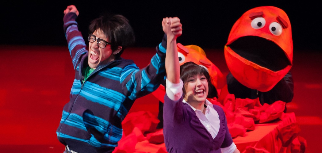 "Ma-Yi Theater Company's ""The Wong Kids in the Secret of the Space Chupacabra Go!"" is among the offerings in ArtsEmerson's 2015-16 season. (Courtesy photo.)"