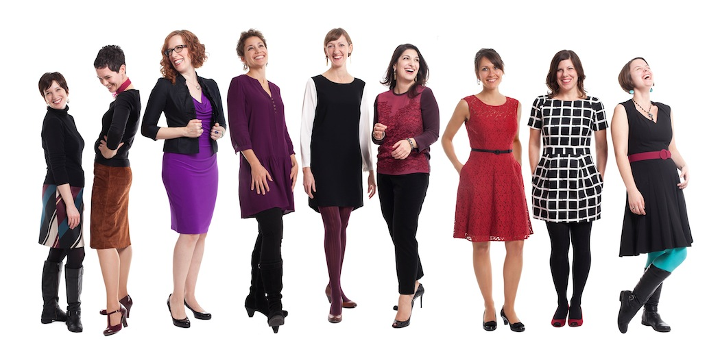 The women of Lorelei are committed to mixing early music with freshly written compositions. (Courtesy photo.)