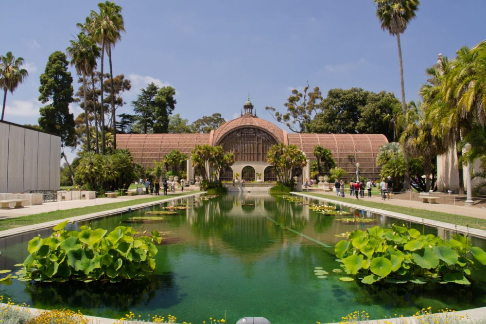 The view of the Botanical Building with the Lily Pond and Lagoon in the foreground is one of the most photographed scenes in Balboa Park. (markwestonphoto/Flickr)