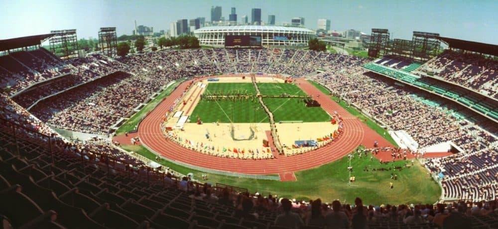 Olympic Stadium in Atlanta in 1996. (John Bazemore/AP)