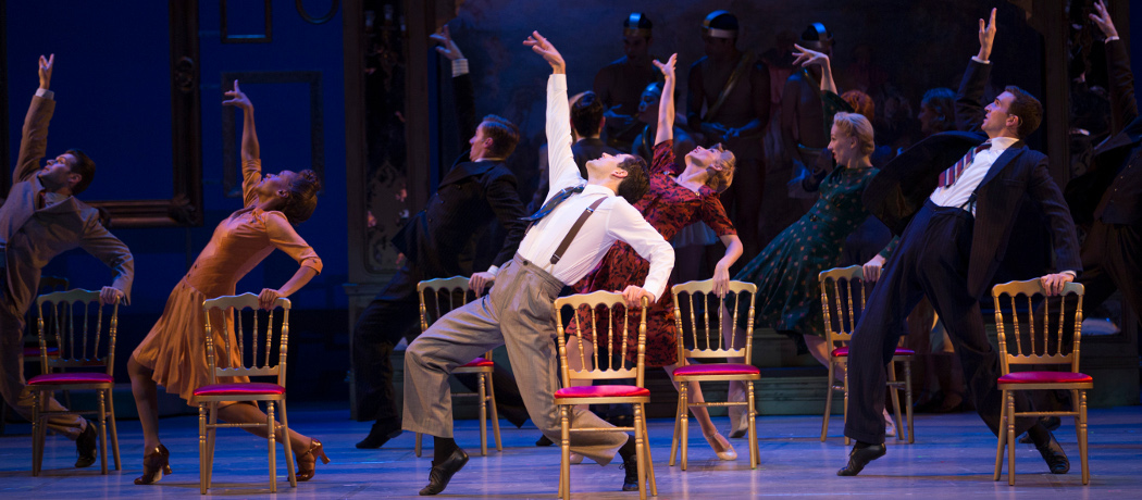 """The company of """"An American in Paris."""" (Angela Sterling)"""
