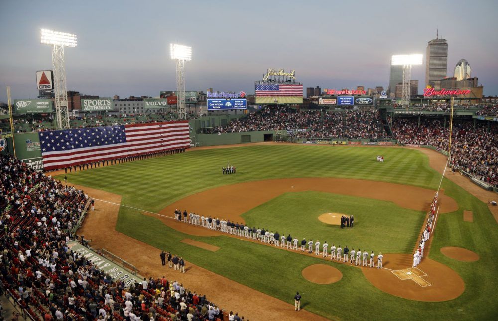 Fenway Park has the least foul territory of any Major League ballpark, according to the Society for American Baseball Research. (Elise Amendola/AP)
