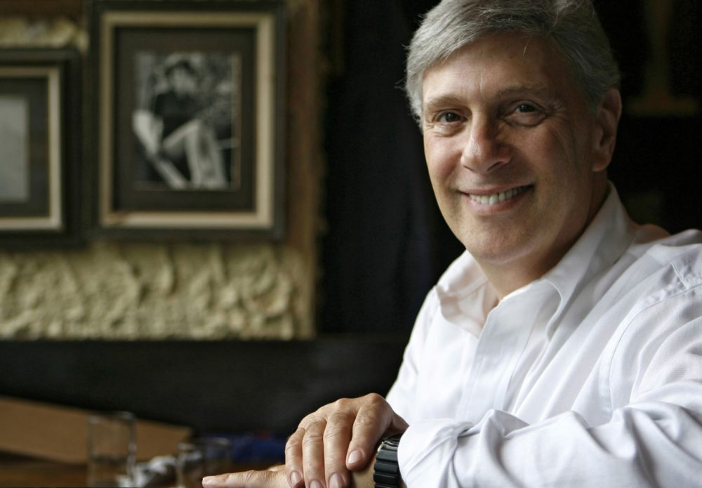Richard Melman, 64, founder and chairman of Lettuce Entertain You Enterprises Inc., sits in his first restaurant, R.J. Grunt's on June 21, 2006, in Chicago's Lincoln Park neighborhood. (M. Spencer Green/AP)