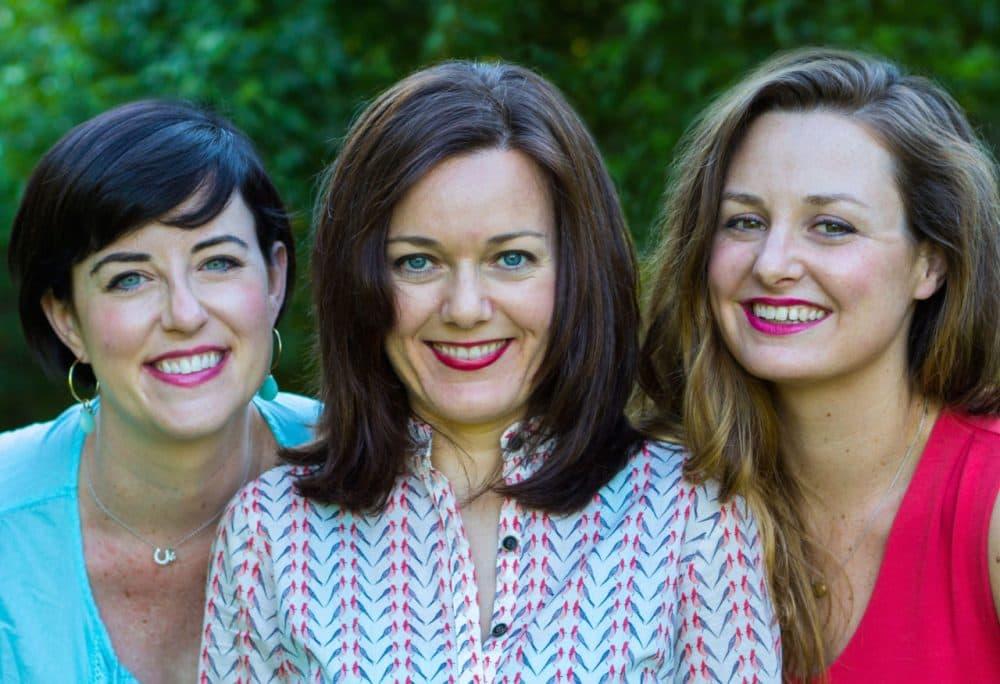 "Marnie Hanel, Jen Stevenson and Andrea Slonecker are the authors of ""The Picnic."" (Mona Johnson)"