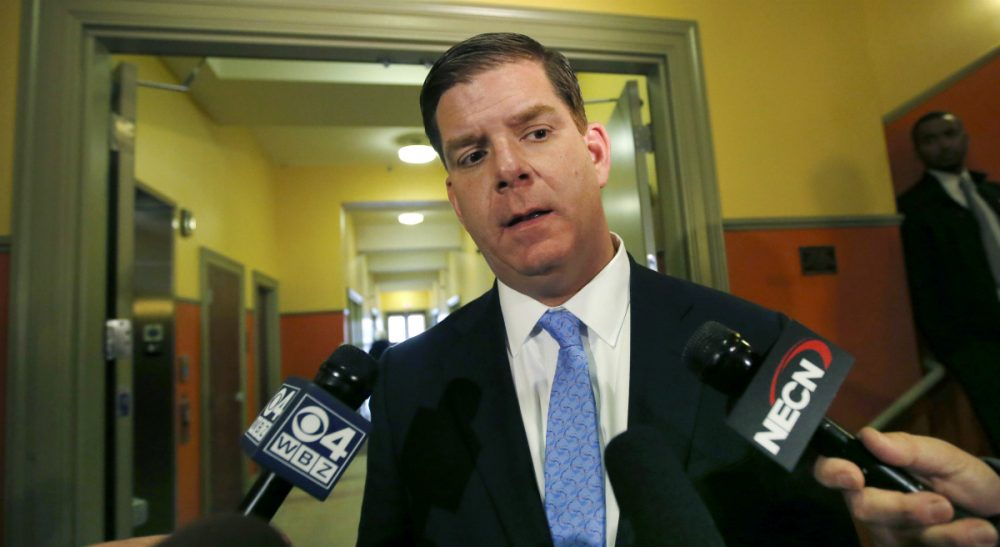 Wendy Kaminer: On the subject of drug use, Boston Mayor Marty Walsh seems stupefied by unshakeable faith in the universal truth of his own experiences. In this Thursday, Feb. 27, 2014 file photo, Walsh speaks to reporters in Boston. (Elise Amendola/AP)