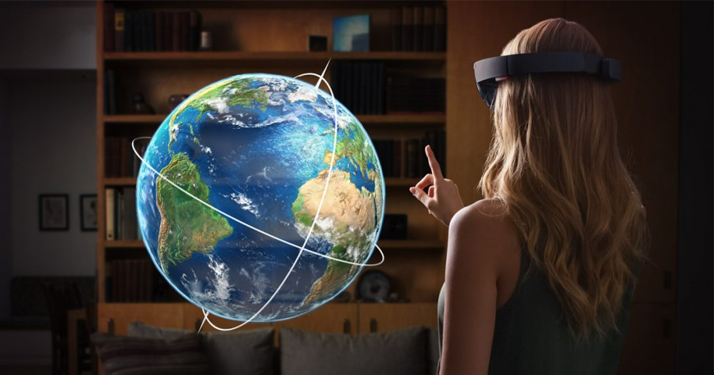 Microsoft's HoloLens is among the virtual reality technologies being demoed at E3. (Microsoft)