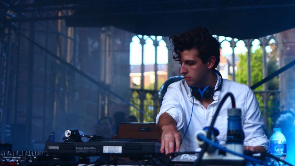 DJ, producer and remix artist Jamie xx performs in Liverpool, England. He released two singles in March and is currently touring in Europe. (dannyjohnryder/Flickr)
