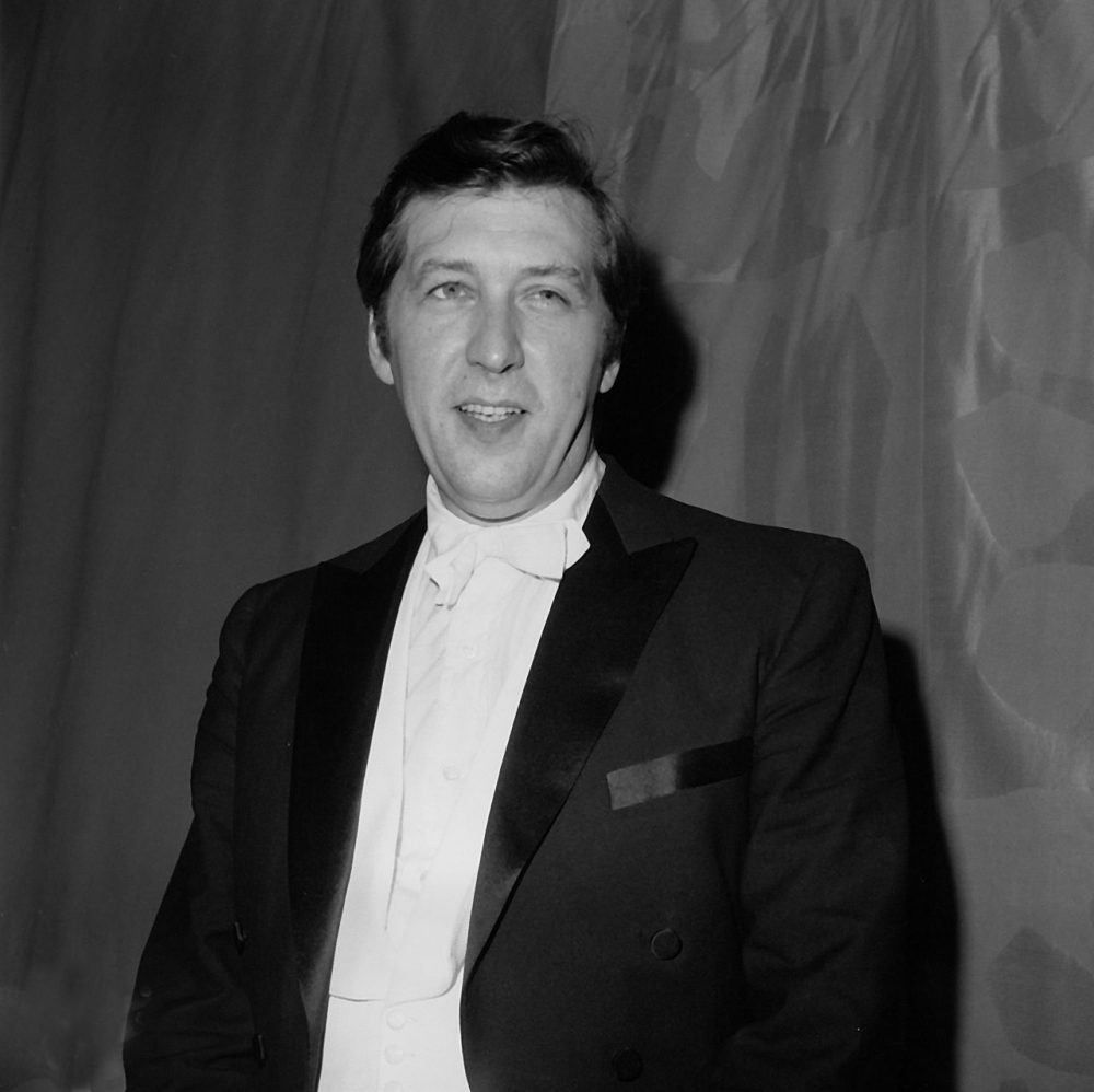 "Gunther Schuller, who wrote and directed the opera ""Visitation,"" is shown at the Metropolitan Opera House at Lincoln Center in New York City in 1967.  (AP)"