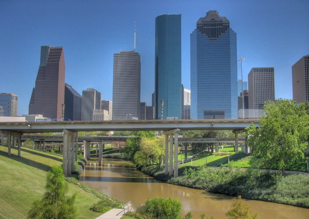 A view of downtown Houston, Texas. (David Grant/Flickr)