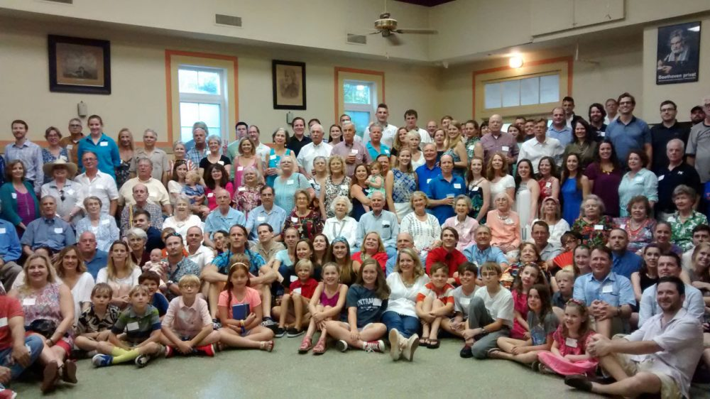 Members of the Maverick family gather for a reunion in June 2015. (Jill Ryan)