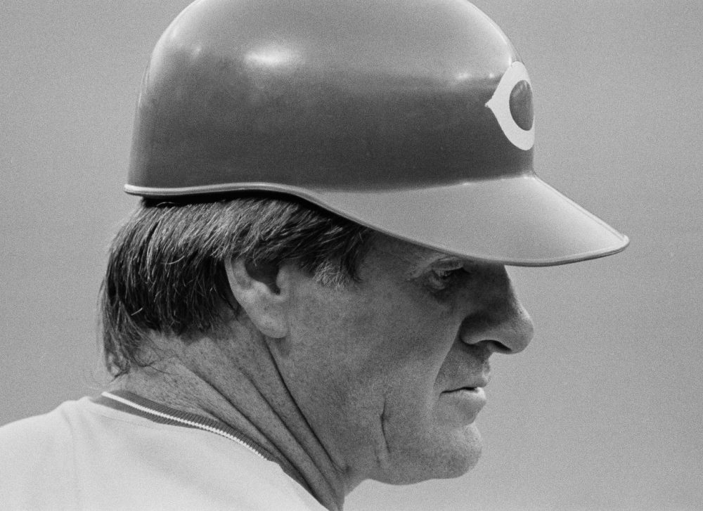 Pete Rose has been on a quest to be in the Hall of Fame. Despite betting as a manager... and potentially as a player, Bill Littlefield believes the all-time hits leader should get his own plaque in Cooperstown. (Bob Daugherty/AP)