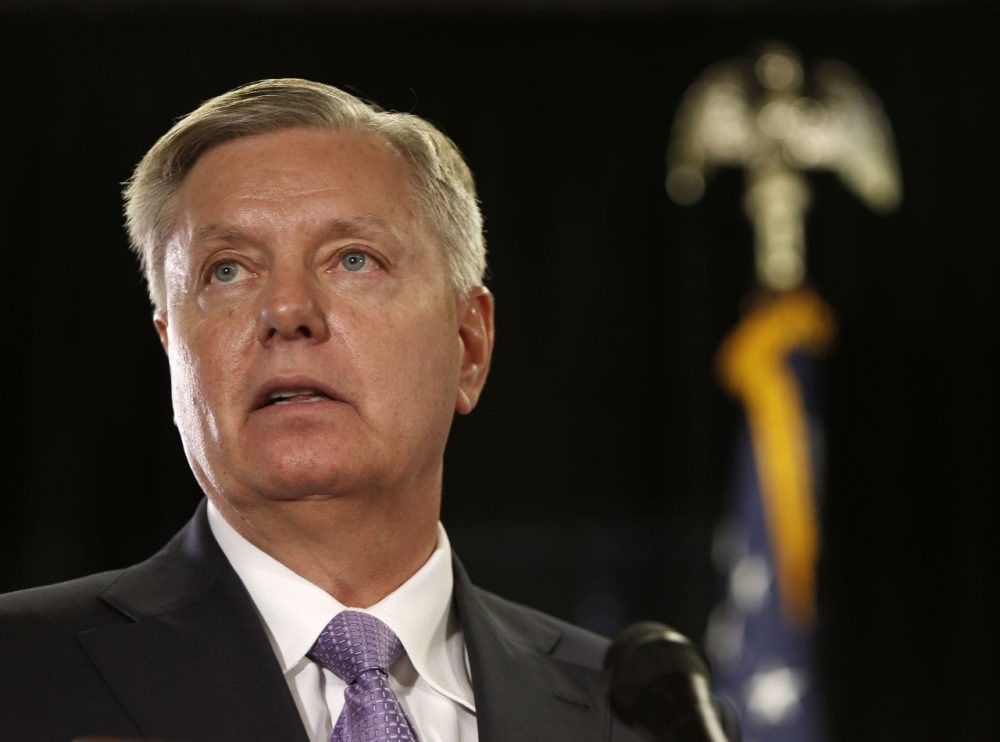 The Security Through Strength PAC is backing Sen. Lindsey Graham, of South Carolina. (Jim Cole/AP)