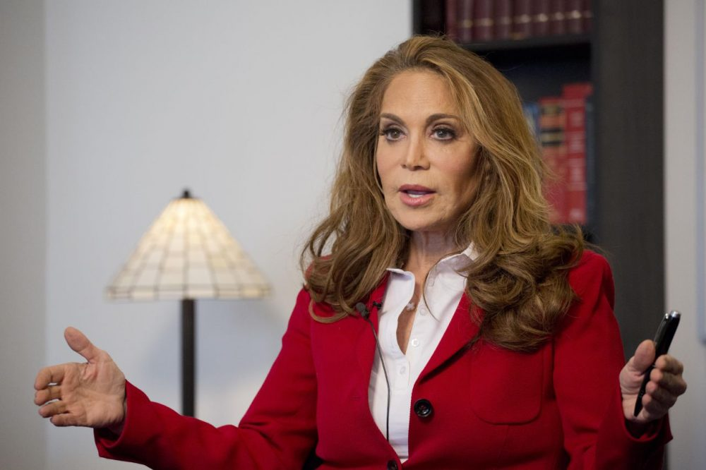 Pamela Geller pictured last month during an interview with The Associated Press. (Mark Lennihan/AP)