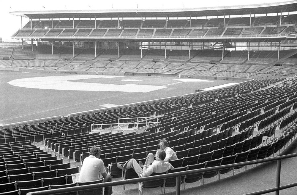 On this June day in 1981, there was supposed to be a Chicago Cubs baseball game. Due to the strike, the game was cancelled. (Fred Jewell/AP)