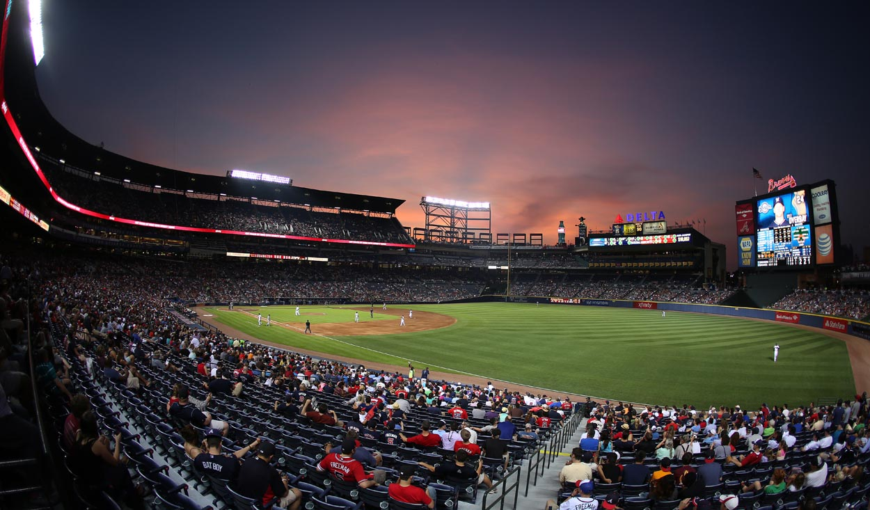 The Olympic Stadium for Atlanta's 1996 Summer Games was converted into a baseball stadium for the Braves once the games left town. But with the team planning to leave Turner Field for a new stadium after the 2016 season, the future of the former Olympic venue is now up in the air. (John Bazemore/AP)