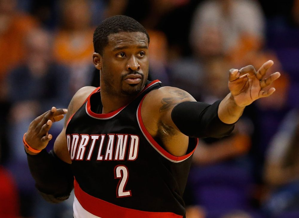 Wesley Matthews went undrafted out of college. But the shooting guard has become one of the best in the NBA, despite being overlooked early on in his career. (Christian Petersen/Getty Images)