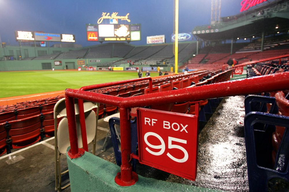 The Boston Red Sox season has been dismal, which prompted Bill Littlefield to remember another time when he picked dinner over watching the Sox at Fenway. (Jed Jacobsohn/Getty Images)
