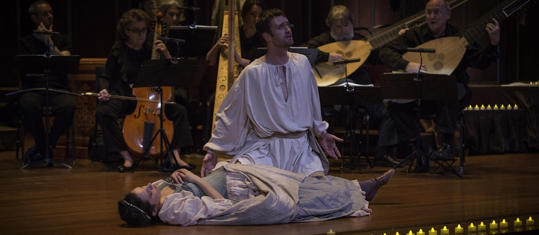 Aaron Sheehan played Orfeo in the 2012 production and will again on June 13 in the Boston Early Music Festival. (Kathy Wittman)