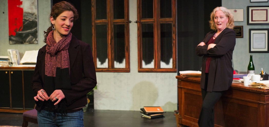 """Bridget Saracino and Tod Randolph in """"The How and the Why"""" in Lenox, running through July 26. (John Dolan)"""