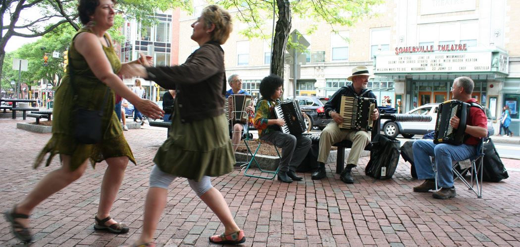 Dancing at the 2014 Squeezebox Slam. (Courtesy)