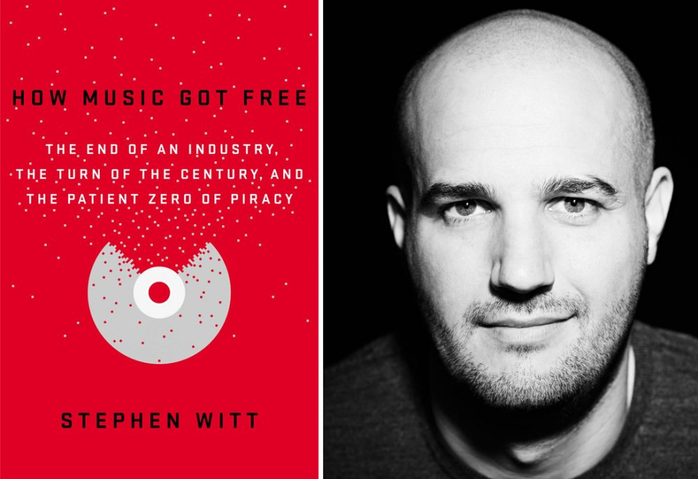"""Stephen Witt is author of """"How Music Got Free."""" (Photo on right by Chad Griffith)"""